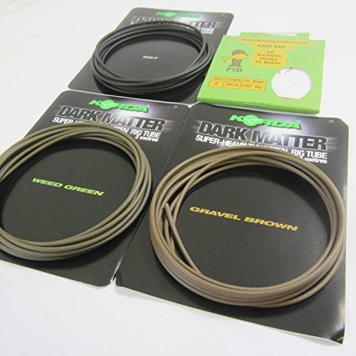ftd-min-4-m-2-packungen-von-2-m-von-korda-dark-matter-super-heavy-tungsten-angeln-rig-tube-schlauch-