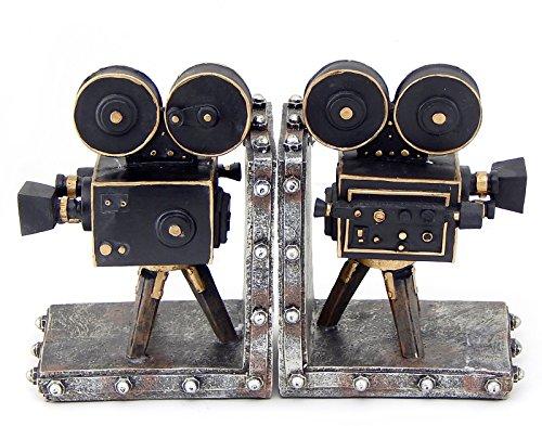 Vintage Style Film Camera Cast Resin Bookend Set of 2 (Vintage Film Reel compare prices)