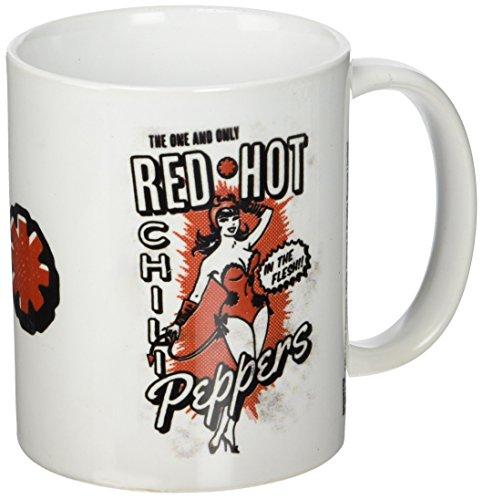 Red Hot Chili Peppers Devil Girl-Tazza in ceramica, multicolore