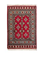 Navaei & Co. Alfombra Kashmir Rojo/Multicolor 123 x 82 cm