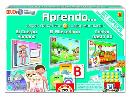 Educa Borrás 14392 - Set Especial Educa Multimedia