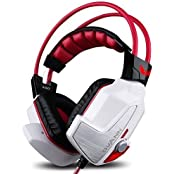 Ovann X60R Stereo Gaming Headset Comfortable Headphone With Mic Virtual 7.1 USB Heavy Bass Surround Sound Shake...