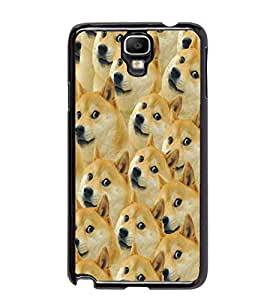 PrintDhaba Dogs D-5337 Back Case Cover for SAMSUNG GALAXY NOTE 3 NEO (Multi-Coloured)
