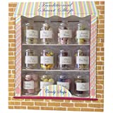 Large Traditional Sweet Shop- Set of 12 Different Traditional Sweetie Jars