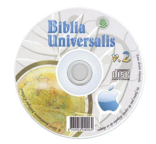 Biblia Universalis v2, 15 Bibles sur 1 CD (Pour Mac)