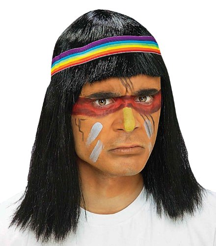 Forum Native American Brave Wig