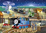 Thomas & Friends: Night Works - 100 Piece Puzzle Glow-in-the-Dark