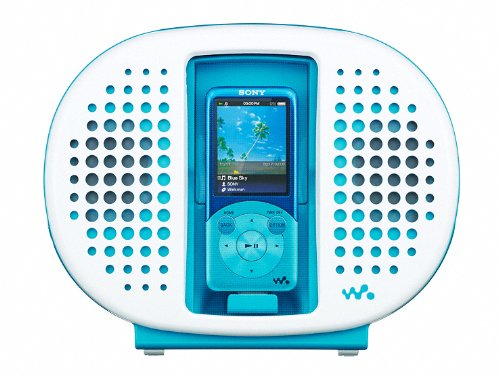 SONY WALKMAN Waterproof Dock Speaker | RDP-NWR100 L Blue колонка sony rdp ca1