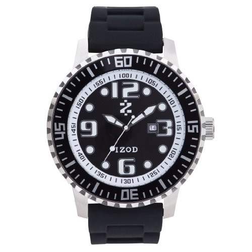 IZOD Men's IZS4/1 BLK Sport Quartz 3 Hand Watch