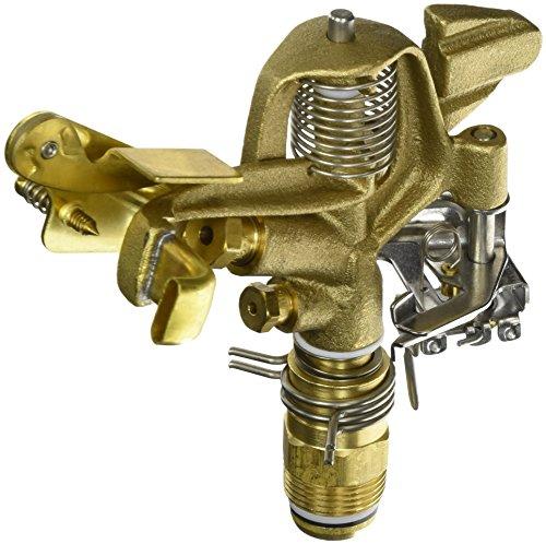 Orbit-WaterMaster-55016-Sprinkler-System-34-Inch-Brass-Impact-Head-with-25-48-Foot-Coverage