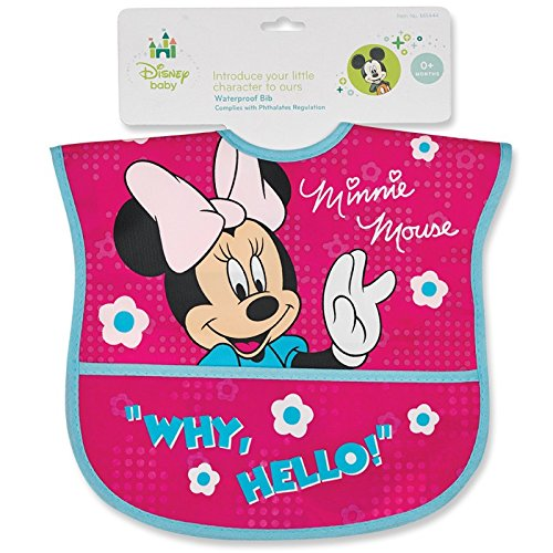 Minnie Mouse Water-Proof Bib - 1