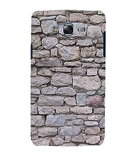 Rock Pattern 3D Hard Polycarbonate Designer Back Case Cover for Samsung Galaxy J5 (2015) :: Samsung Galaxy J5 J500F (Old Version)
