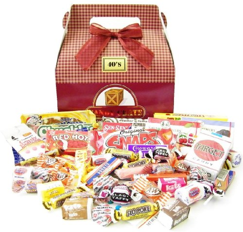 Candy Crate 1940′s Retro Candy Gift Box
