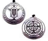 Talisman for Riches Pendant Pagan Magic Amulet Wicca Wiccan Necklace Kabbalah Jewelry