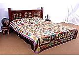 Jaipur Textile Hub Cotton Double Bedspread - SD_JTH_3496_VBS