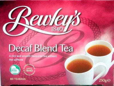 Bewley'S Decaf Blend Tea (80 Tea Bags)