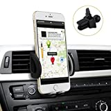 Phone Holder, Avolare Air Vent Car Mount Smartphone Cradle Cell Phone Car Holder with Ball Joint for Smartphones and GPS Devices