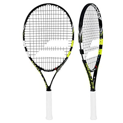 Babolat Nadal Junior 25 Grip 0 Strung Tennis Racquet (Black, Yellow, Weight - 240)