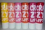 Combo Of 6pc 7Heaven Crazy Lips Lip Balm Color