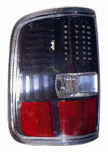 Depo 330-1926Pxus2 Ford F150 Black Led Tail Light