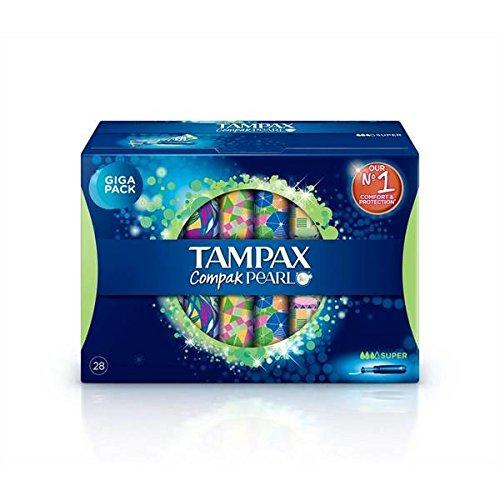 tampax-compak-pearl-super-x28-gigapack-prix-unitaire-envoi-rapide-et-soignee