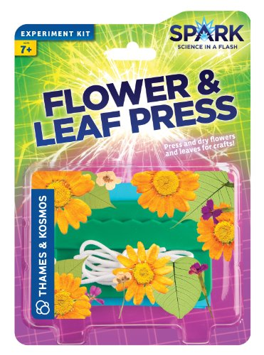 Thames and Kosmos Flower and Leaf Press - 1