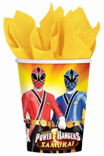 Power Rangers Samurai 9oz Paper Cups (8ct) - 1