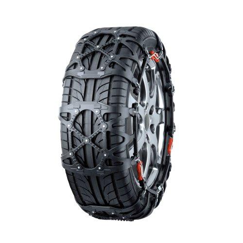 カーメイト(CARMATE) 簡単装着 BIATHLONシリーズの決定版 非金属タイヤチェーン バイアスロン・クイックイージー ブラック QE6