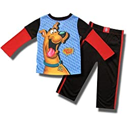 Scooby Doo 2 piece Athletic Style Pajamas for Boys