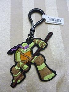 Teenage Mutant Ninja Turtles Donatello Backpack Clip Keychain