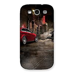 Delighted Red Car Impact Multicolor Back Case Cover for Galaxy S3