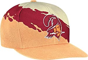 Tampa Bay Buccaneers Mitchell & Ness Vintage Paintbrush Snap Back Hat by Mitchell & Ness