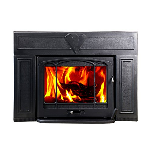 HiFlame Wood Burning Fireplace Insert HF577IU3 Paint Black (Fireplace Inserts Wood compare prices)