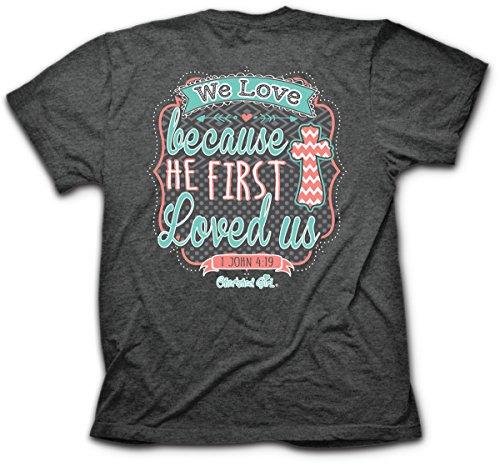 We Love T-Shirt (Medium), Dark Heather