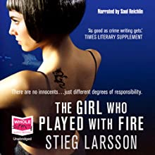 The Girl Who Played with Fire (       UNABRIDGED) by Stieg Larsson Narrated by Saul Reichlin