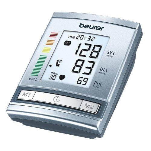 Beurer - BM 60 - Tensiomètre de Bras - Détection Arythmie / Indicateur Position / Repos Ok