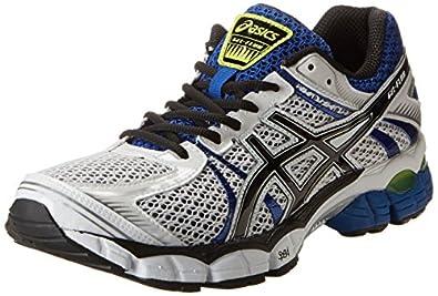 ASICS Men's Gel-Flux Running Shoe,White/Black/Royal,8 M US