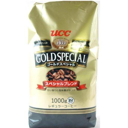 UCC ゴールドスペシャル スペシャルブレンド レギュラーコーヒー粉 1000g×2個