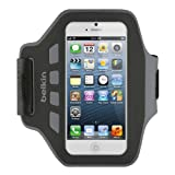 Belkin EaseFit Armband for iPhone 5, 5S, 5c and iPod touch 5th Generation (Black)
