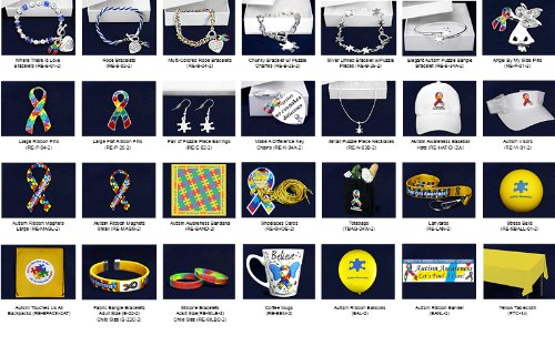 Autism Awareness Mixed Item Fundraising Kit (271 Items)