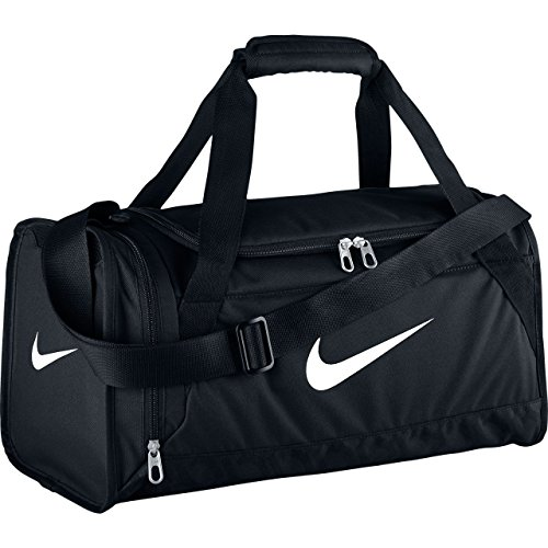 Nike Brasilia 6 X-Small Duffel Black/Black/White - Nike All