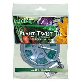 Luster Leaf Rapiclip Garden Plant Twist Tie - 100 Foot Spool 841