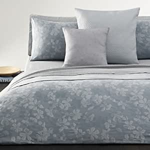 Calvin Klein White Label Laurel Queen Comforter Set, Flint