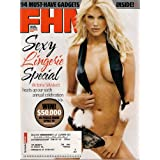 VICTORIA SILVSTEDT FHM DECEMBER 2005 SEXY LINGERIE SPECIAL!
