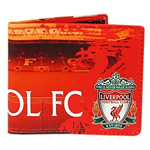 Official Liverpool FC Wallet - A Great Christmas, Birthday, Valentine, Anniversary Gift For Husbands, Fathers, Sons, Boyfriends, Friends and Any Avid Liverpool Football Club Fan Supporter by ONTRAD Limited