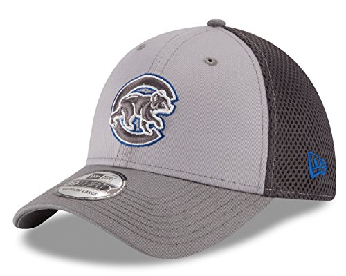 Chicago Cubs Greyed Out Neo 39THIRTY Flex Hat by New Era (Fitted Hats 39 compare prices)