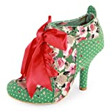 Irregular Choice Abigails Party Womens Textile Heels