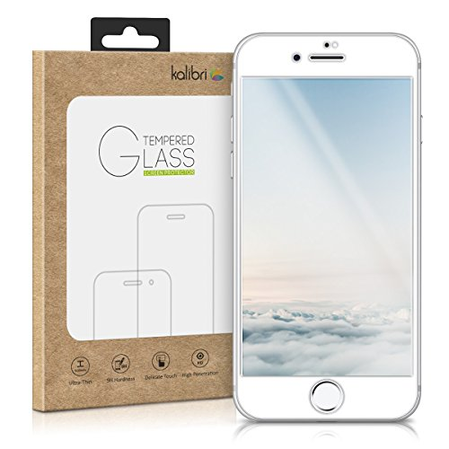 kalibri-Echtglas-Displayschutz-fr-Apple-iPhone-7-3D-Schutzglas-Full-Cover-Screen-Protector-mit-Rahmen-in-Wei
