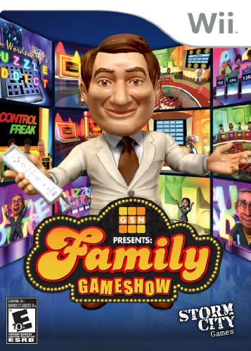Gsn Presents: Family Gameshow - Nintendo Wii (Nintendo Wii Games For Adults compare prices)
