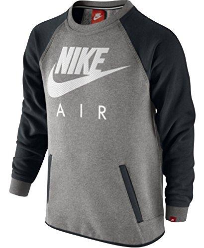 Nike già FT-Air YTH HBR Crew-Felpa da ragazzo